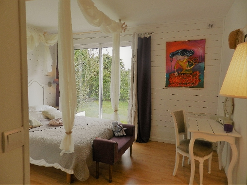 Chambre d'hote Morbihan - chambre boudoir