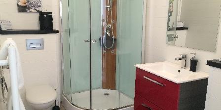 Le Champ de la Mer Salle de bain privée pour chaque chambre