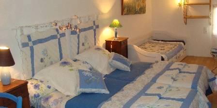 Accueil Au Village Bedroom Bleuets