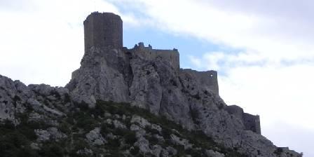 Chambre d'hotes Accueil Au Village > château e Queribus