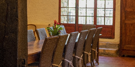 Le Vieux Moulin La salle à manger