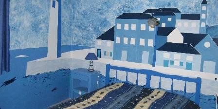 Le Volcan d'Aizac Chambre Bleue