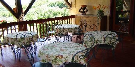 La Grange de Langlade Petit déjeuner en été