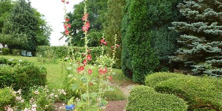 La Rose Trémière Le Jardin entrée
