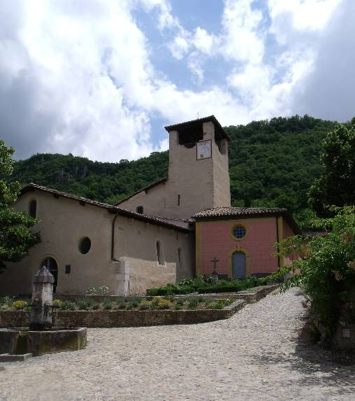 l'église classée du 11ème sicèle, à Saint-Martin, Hostun, Drôme