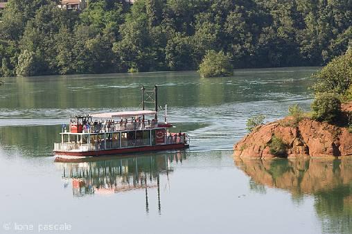 croisière en bateau à roue, Saint-Nazaire en Royans