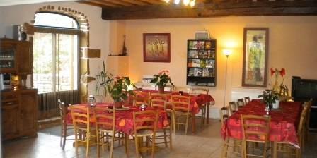 Gîte du Moulin de Jonc Salle à manger 35m²