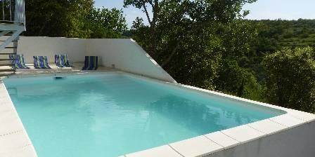 Cabanes d'hôtes sous les arbres les Cabistous  La piscine(6m*4m)