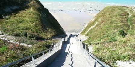Village Vacances Le Pré Marin Escaliers de Sotteville sur mer