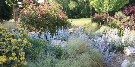 Au Chant des Sorgues Jardin fleuri