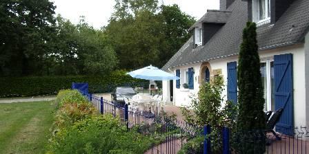 La Maison Bleue Le jardin entièrement cloturé