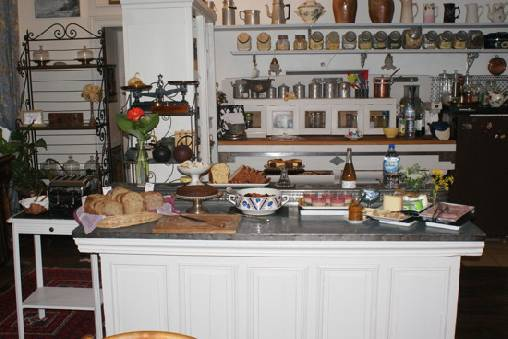 bed & breakfast Aube - Breakfast buffet