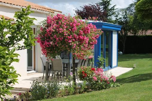 Chambre d'hote Vendée - jardin-véranda