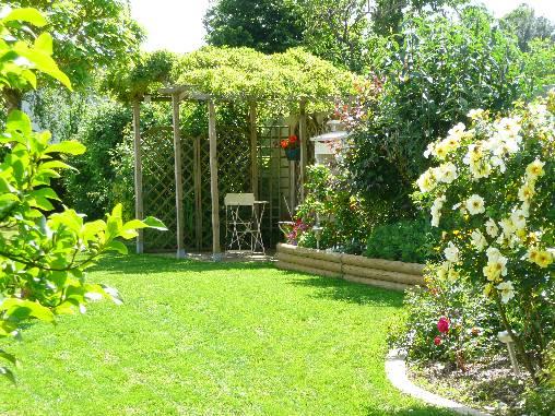 Chambre d'hote Vendée - jardin -printemps