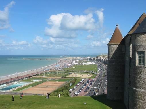 Front de mer de Dieppe (accessible)