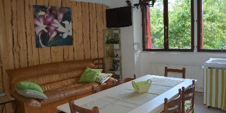 Gîte Montjoie Salon/cuisine