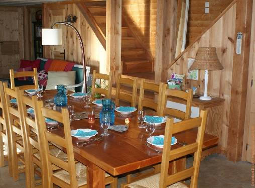 bed & breakfast Ardèche - Dining room at