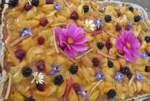 Cuisine de plantes et de fleurs