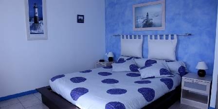Bed and breakfast Cap L'ocean > Chambre `le Phare Bleu`