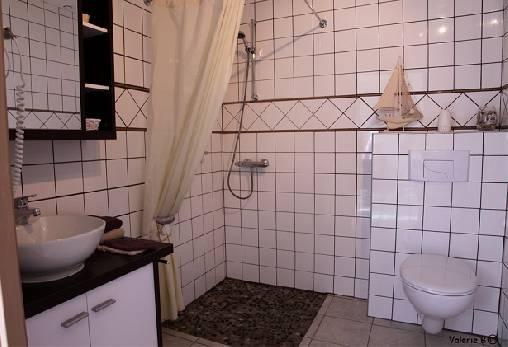 Salle de bain chambre `La Plage aux Galets`