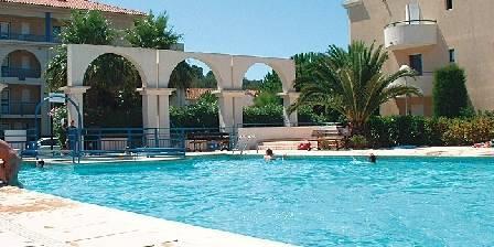 Lavandou La piscine de la résidence