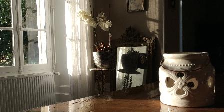 Le Manoir en Agenais Ilot de cuisson l'office du Manoir en agenais  grand gite