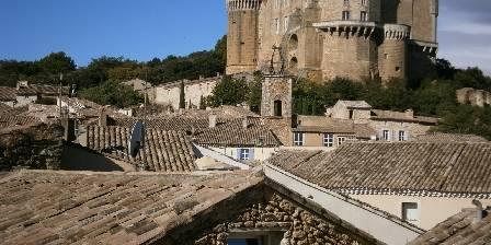 Les Aiguières Vue du Château médiéval