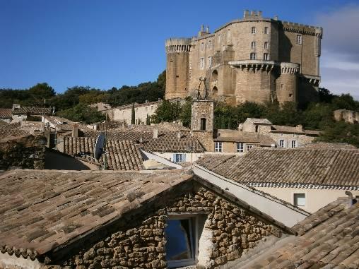 Chambre d'hote Drôme - Vue du Château médiéval