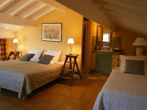Chambre d'hote Drôme - La chambre Jaune