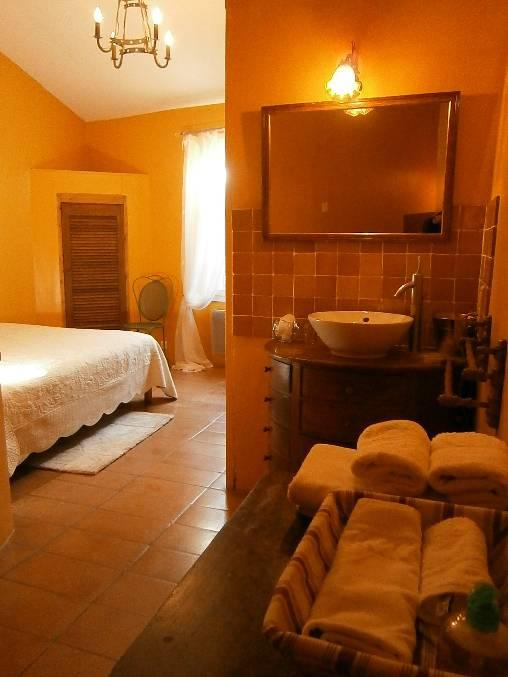 Chambre d'hote Drôme - La chambre safran