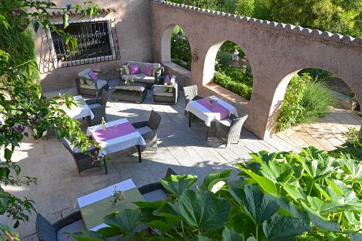 bed & breakfast Alpes Maritimes - The patio