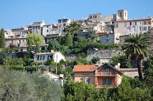 le village médiéval de Biot