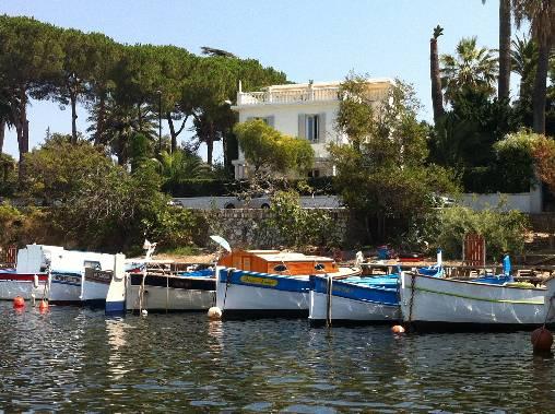 le romantique port de l'olivette cap d'Antibes