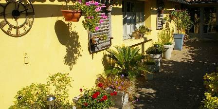 Domaine de Bourgville La terrasse