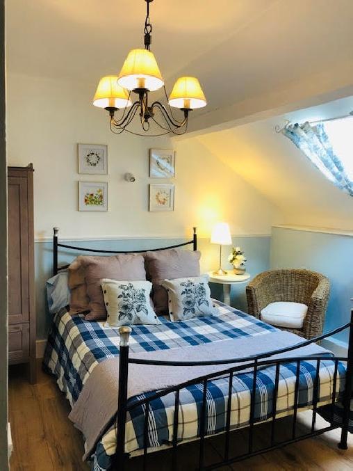 Chambre d'hote Aisne - chambre bleue La Besace Chambres d'hôte BnB
