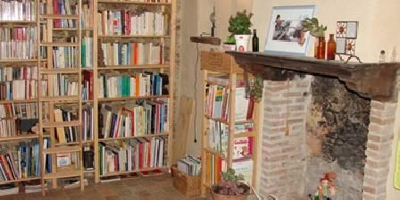 Domaine de l'Ecorce La bibliothèque