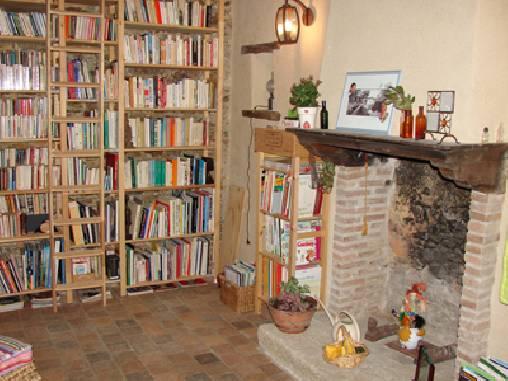 Chambre d'hote Loire-Atlantique - La bibliothèque
