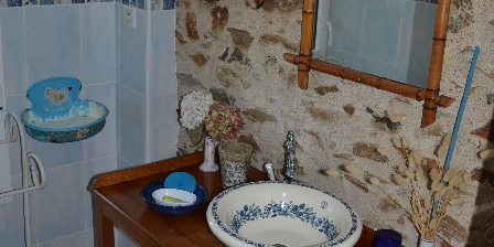 Domaine de l'Ecorce Céleste : Salle-de-bain, WC séparé