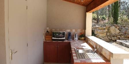 La Dryade Le pool house