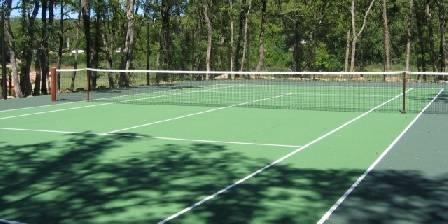 La Dryade Le tennis