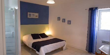Gîte de la  Nauliére Chambre bleu