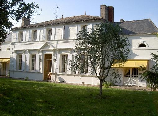 Chambre d'hote Gironde - Façade Chastreuse