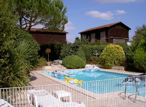 Chambre d'hote Gironde - Piscine