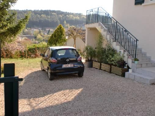 Chambre d'hote Côte-d'Or - Un emplacement parking cloturé