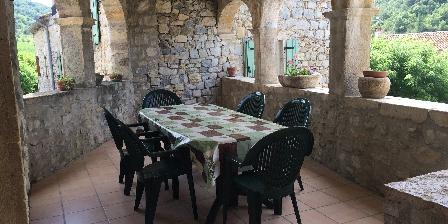La Bastide du Vigneron Terrasse couverte CABERNET