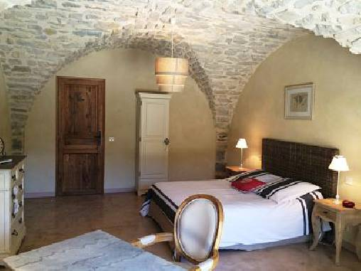 bed & breakfast Ardèche - CHARDONNAY Room 2 + 2 children possible surcharges.