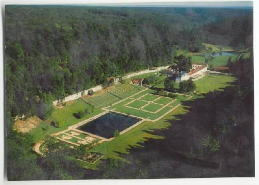 Vue aérienne de l'abbaye