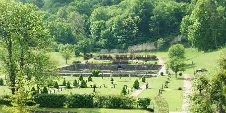 Abbaye du Val des Choues Le jardin à la française