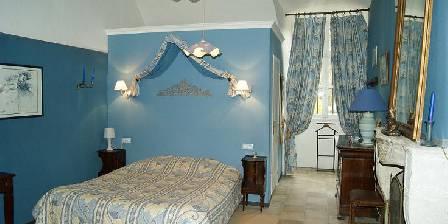 Abbaye du Val des Choues Chambre bleue