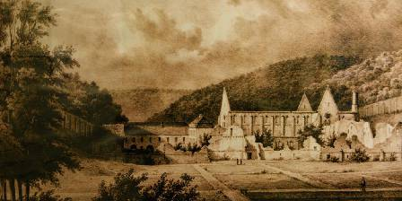Abbaye du Val des Choues L'Abbaye avant la révolution